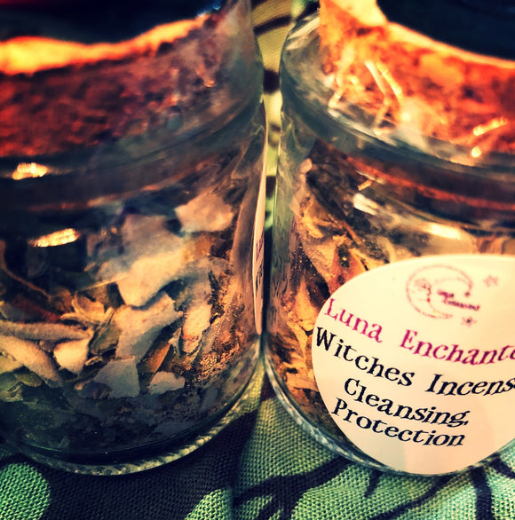 Witches Incense Cleansing & Protection