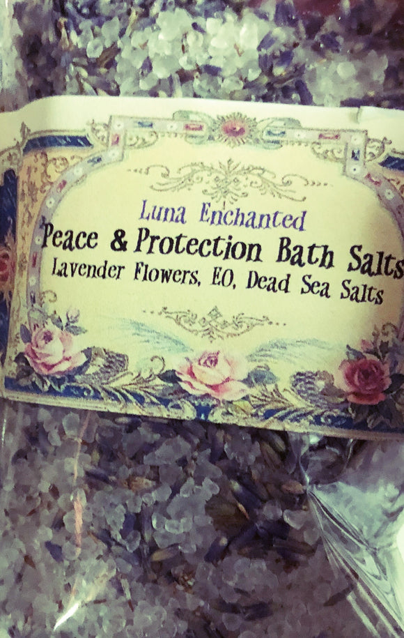 Peace & Protection Spiritual Bath Salts
