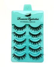 Load image into Gallery viewer, Multi-Pack (5 Pairs) False Black Messy Eyelashes-Eyelashes-Dramatic Eyelashes