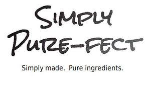 Logo of Simply Pure-fect Goat Milk Soap.