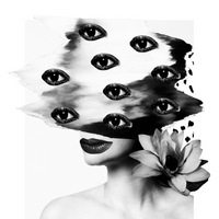 """It's all in the Eyes"" by Charissa den Bakker, Fine Art Print"