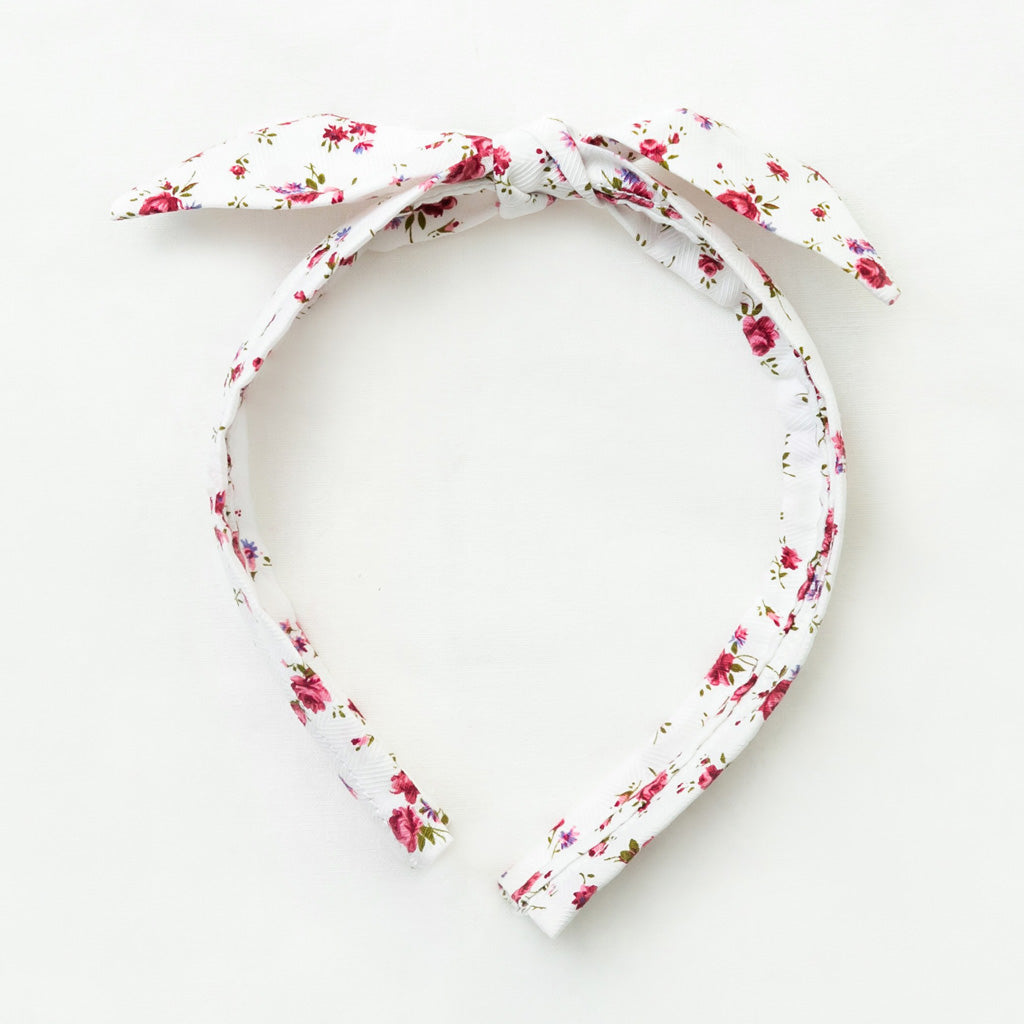 Bunny Band - Red Floral