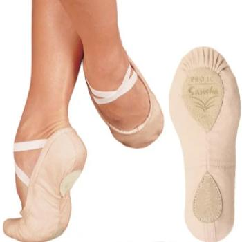 Sansha - Canvas Split-Sole Ballet Slipper