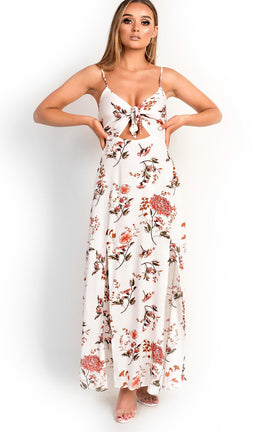 IKRUSH Womens Fifi Floral Maxi Dress