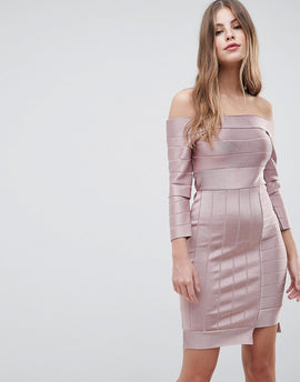 French Connection Bandage Bodycon Dress - Teagown