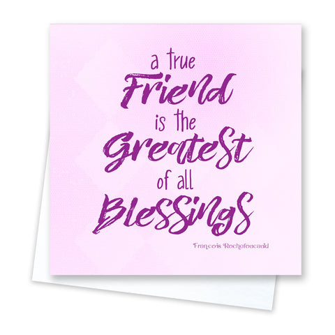 Friends are Blessings Card