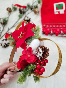 Wilderness | Christmas Inspired Mouse Ears | LL+CO for DIAMOND AND WIRE