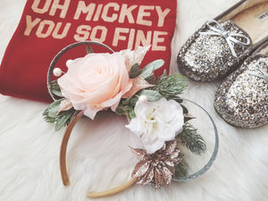 Christmas Glam | Christmas Inspired Mouse Ears | LL+CO for DIAMOND AND WIRE