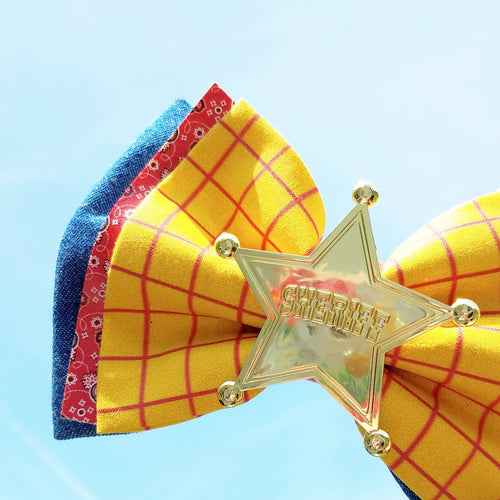 Toy Story Woody Inspired Deluxe Bow