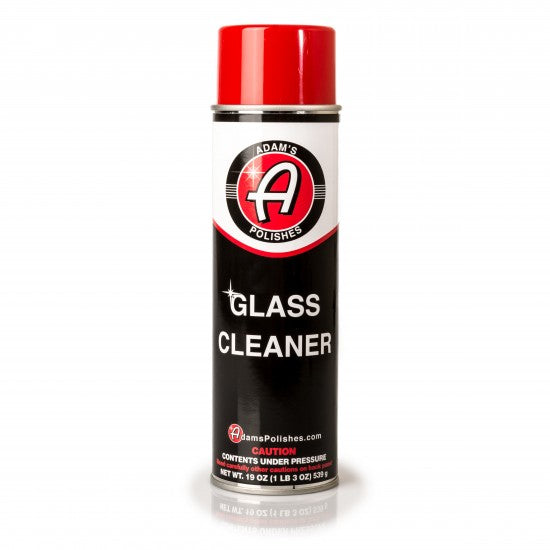 Adam's Aerosol Glass Cleaner 19oz
