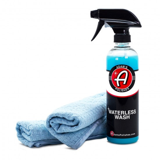 Adam's Waterless Wash & Towel Combo