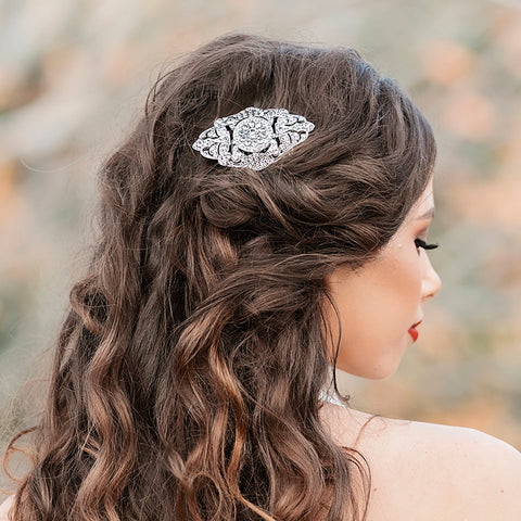 VALENTINA | Vintage Style Bridal Comb