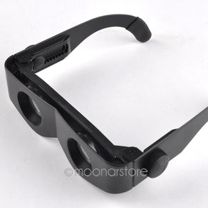 Zoomies Hand Free Folding Magnifier Glasses Telescope
