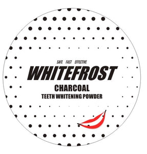 Whitefrost 100% Natural Charcoal Teeth Whitening Powder