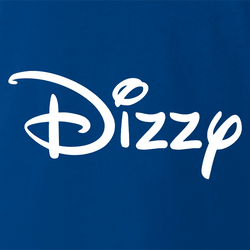 funny dizzy lightheaded disney mashup white men's t-shirt