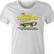 Family Truckster national lampoons family vacation parody t-shirt women's white