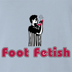 funny Foot Fetish Feet Lover men's t-shirt