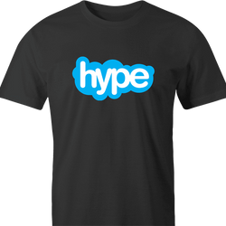 funny Hype Dope Savage Skype men's t-shirt