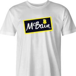 funny t-shirt white men's