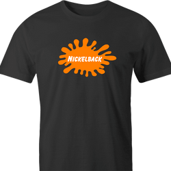 funny Nickelback Nickelodeon Mashup t-shirt men's t-shirt