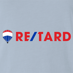 funny retarded men's t-shirt