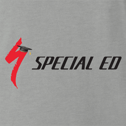Funny Special Education Parody  t-shirt white men's