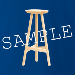 funny Stool Sample Play On Words men's t-shirt