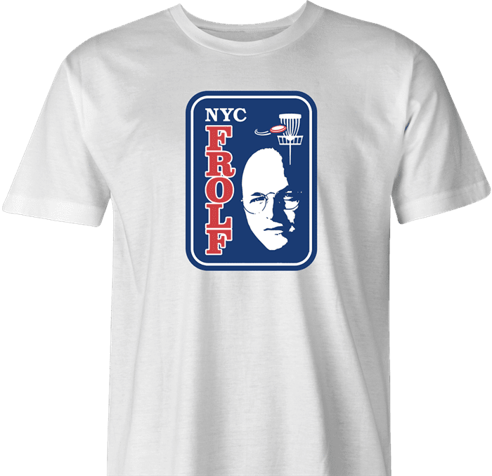 Funny Frolf summer of george costanzamen's t-shirt