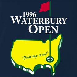funny waterbury open happy gilmore golf white men's t-shirt