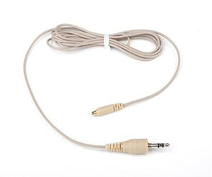 Beige Double Ear Hook Microphone for Sennheiser Radio Body Pack Transmitter