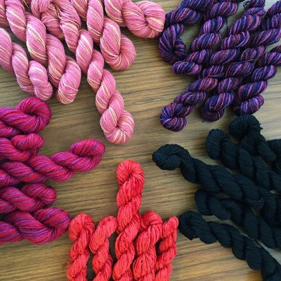 Ashley June- Recycled Mini Skeins 50g Sock