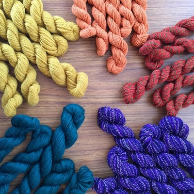 Bi-Te Me- Recycled Mini Skeins 50g Sock