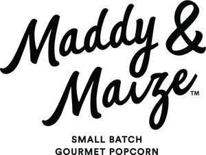Maddy and Maize text logo