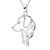 Golden Retriever Pendant (Sterling Silver)