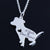 A Girl's Best Friend Pendant Necklace