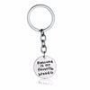 """Rescued Is My Favorite Breed"" Key Chain"