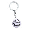"""All Paws Matter"" Key Chain"
