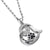 """Always in my Heart"" Paw Print Heart Pendant Necklace"