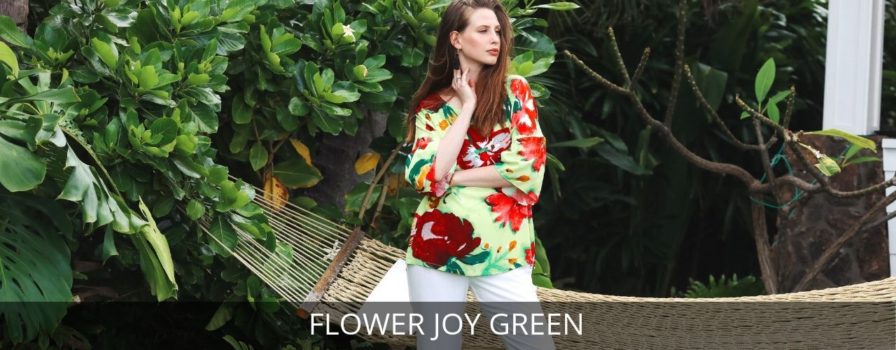 FLOWER JOY GREEN