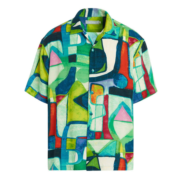 Men's Retro Shirt - Aztec Candle - jamsworld.com