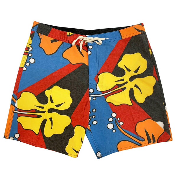 Jams Crash Hibiscus Jam - Next Generation Boardshort - jamsworld.com