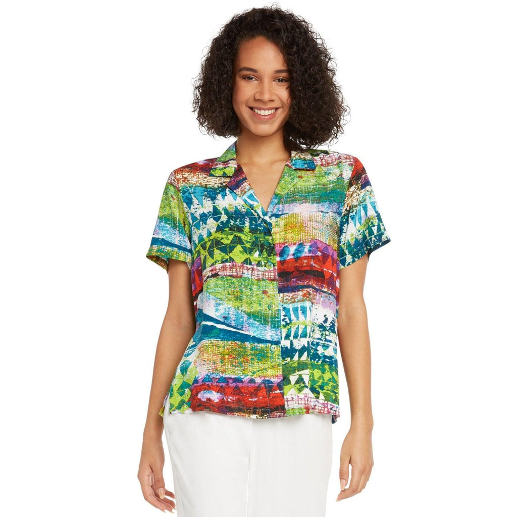Print Top - Tribal Reef - jamsworld.com