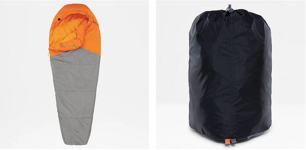 sleeping bag north face