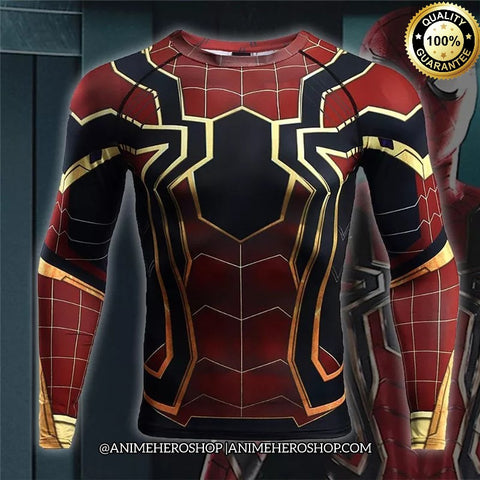Image of Iron Spider Infinity War Long Sleeve T'shirt