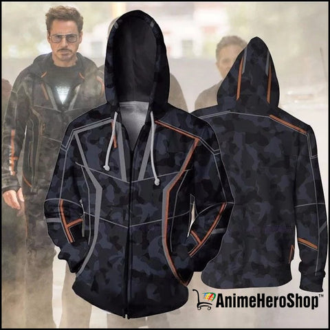 Infinity War Iron Man Tony Stark men 3d print Hoodies