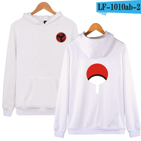 Image of Uchiha Sharingan Hooded Unisex (5 Colors)