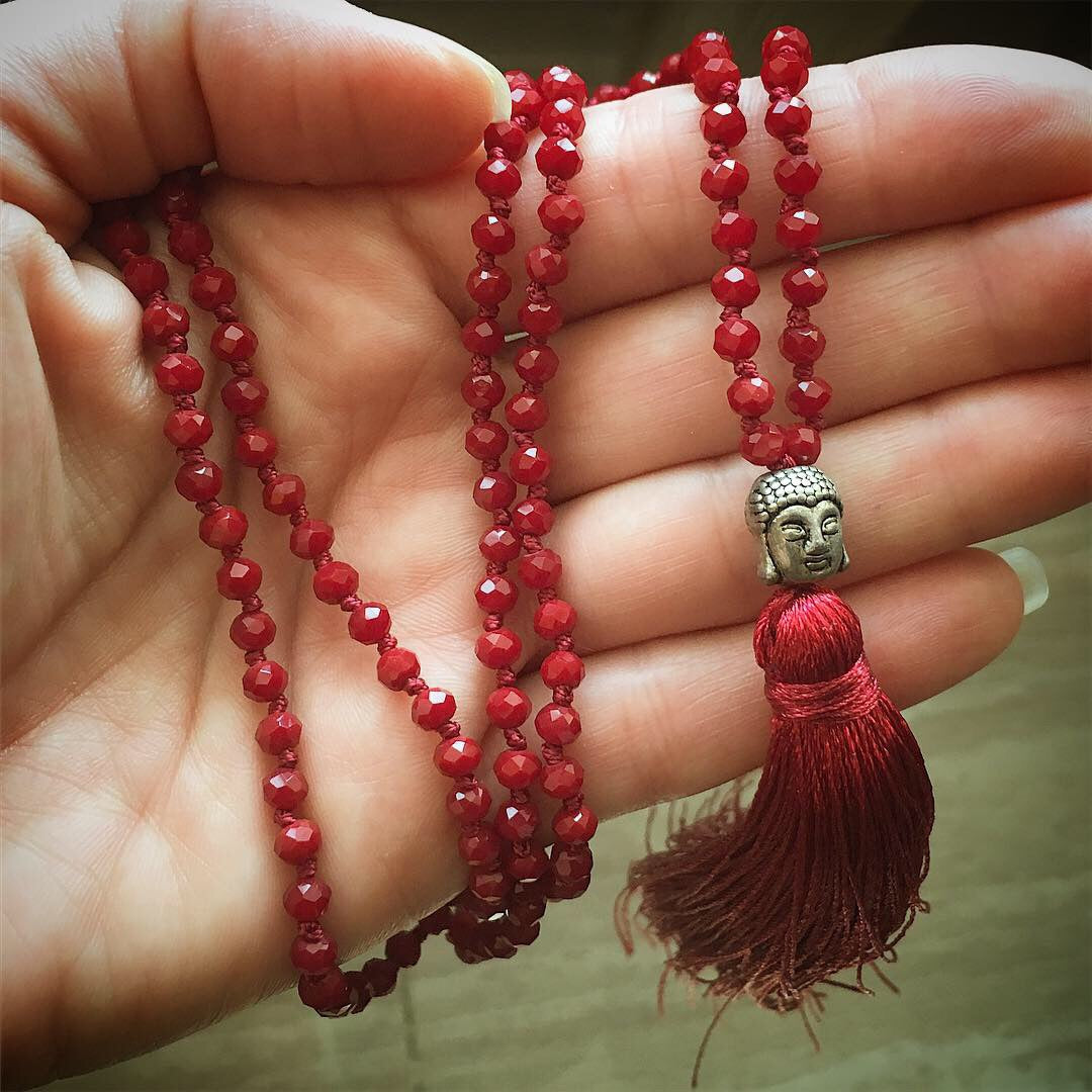 New Beaded Mala Necklaces!