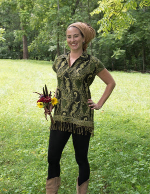 Multi Wear Scarf Tunic