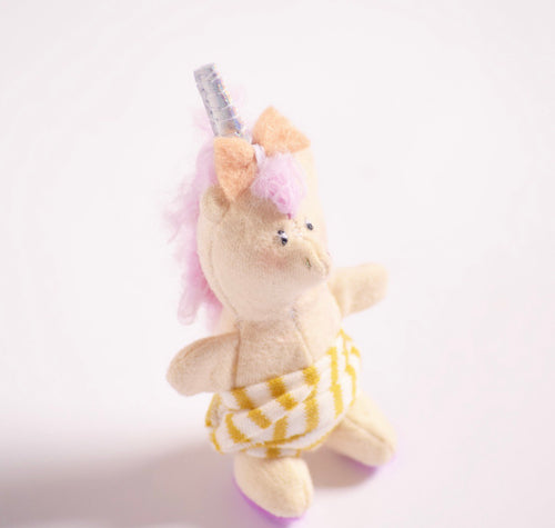Teeny Unicorn baby, handmade toy for kids