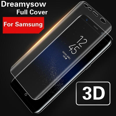 Hot Bending Pet Mobile Phone Full Cover HD Film For Samsung Galaxy